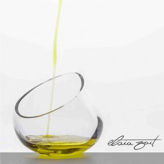 Olive oil tasting glass Elaia zait