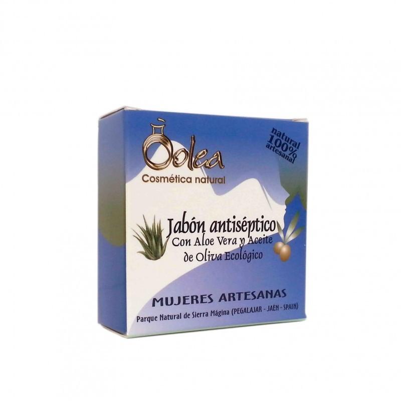 Jabón Antiséptico con Aceite de Oliva Virgen Extra