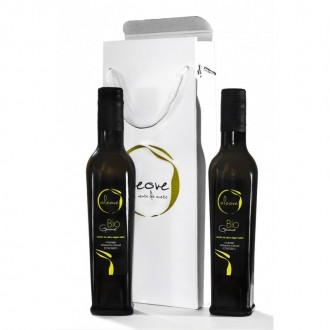 Gift Case of a High quality olive oil Oleove Gourmet.