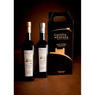 Castillo de Canena Family Reserve Arbequina and Picual. Case with 2 bottles of 500 ml.