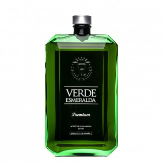 Verde Esmeralda Green bottle Picual...