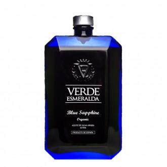 Verde Esmeralda botella azul picual...