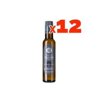 Huile Casas de Hualdo 250 ml. Emballage de 12 bouteilles combinables.