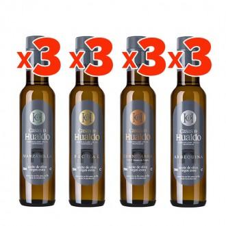 Aceite Casas de Hualdo 250 ml. Pack...