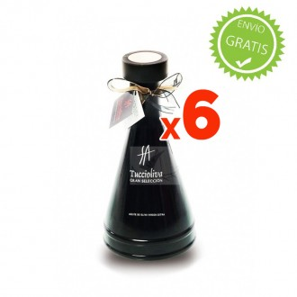 Olive Oil Tuccioliva Bottle Black...