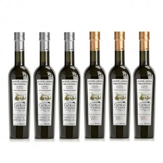 Réserve familiale du Castillo de Canena Picual. Carton de 6 bouteilles de 500 ml.