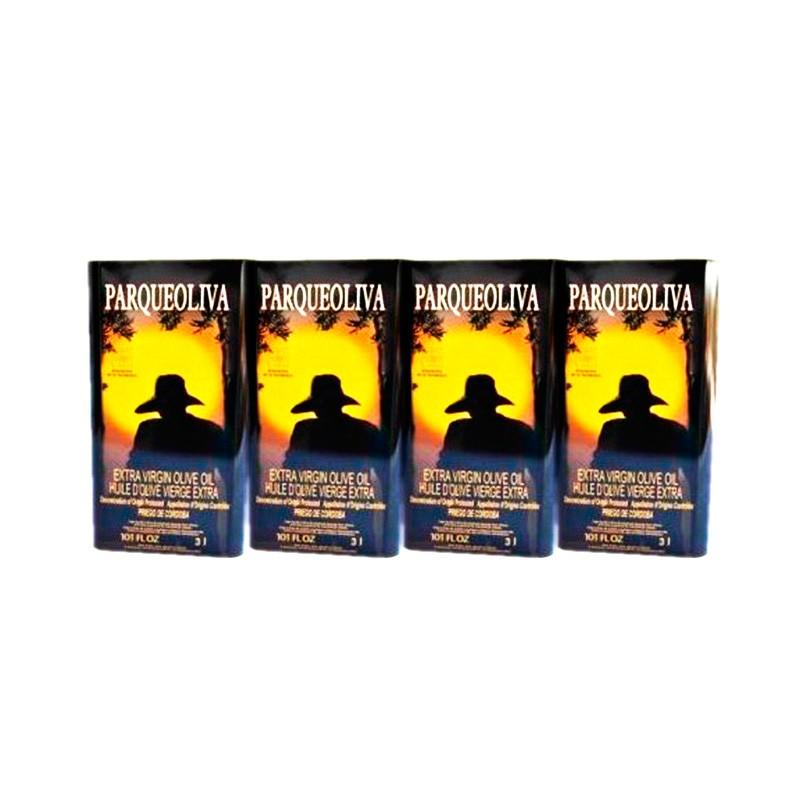 Aceite de oliva Parqueoliva lata 4 unidades