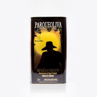 Lata aceite de oliva extra virgen Parqueoliva Serie Oro