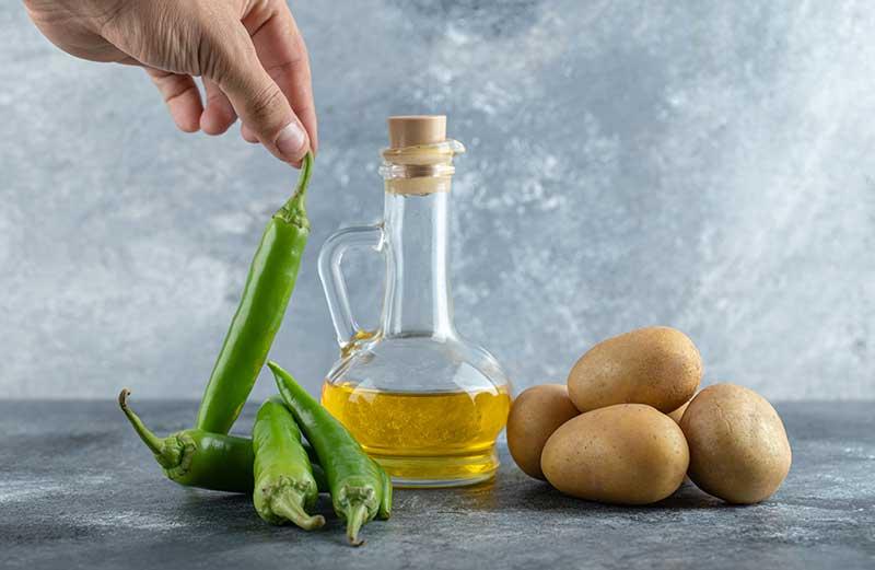 Aceite de oliva virgen extra para cocinar