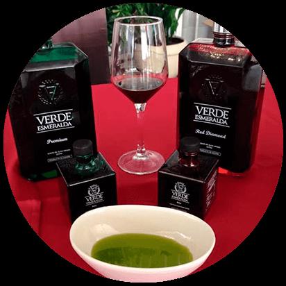 aceite verde esmeralda variedades premium y picual